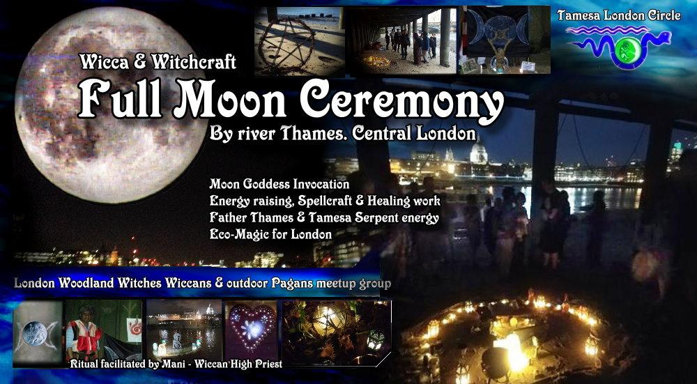 Wicca Full Moon ritual (Thames)