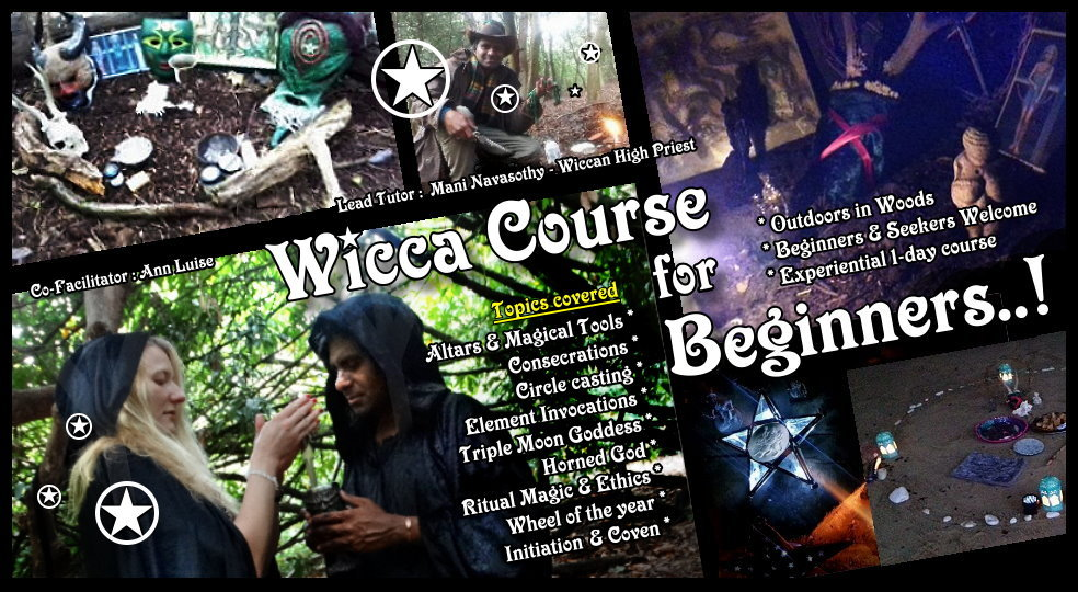 Wicca Course for Beginners - 19th October 2019