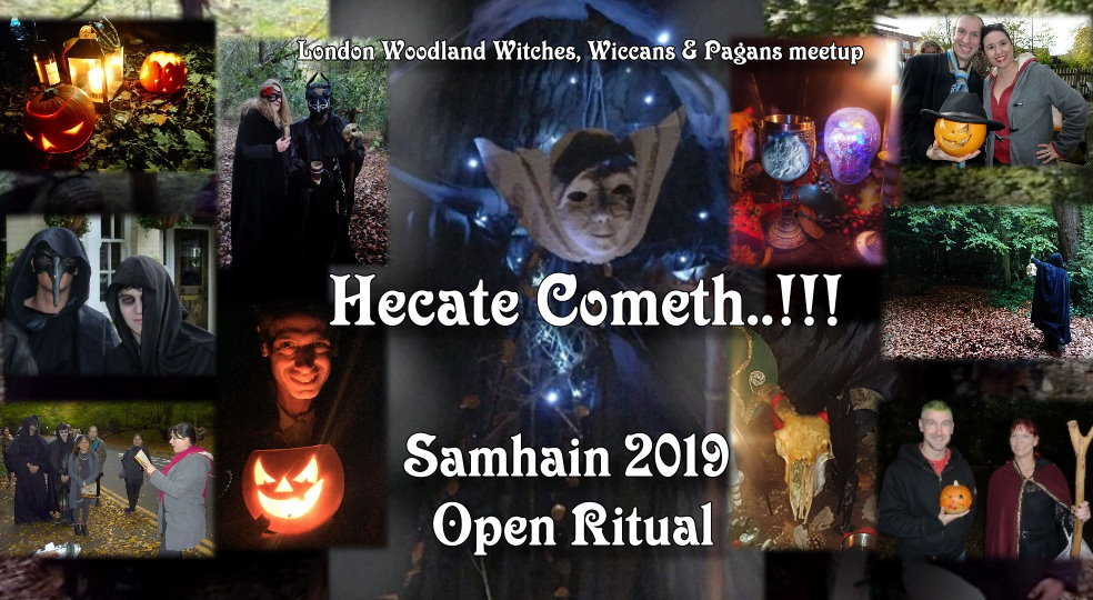 Woodland witches Samhain 2019